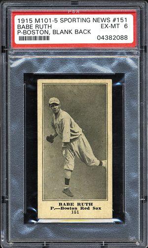 Collectors Spend 9 5 Million On Vintage Baseball Cards Babe Ruth Baseball Cards Baseball