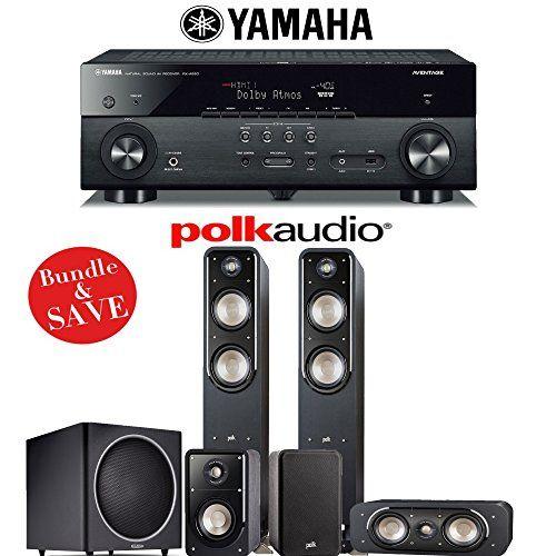 Polk Audio Signature S55 51Ch Home Theater Speaker System