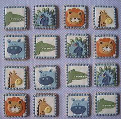 Baby Shower Cookies por Songbird Sweets