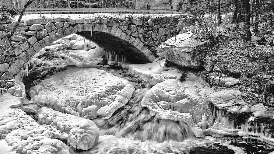 New Hampshire Stone Bridge Photograph  - New Hampshire Stone Bridge Fine Art Print