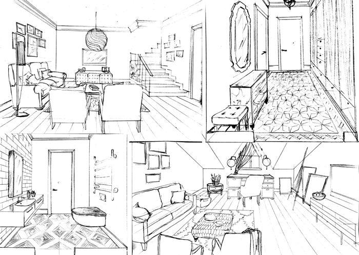 Проект интерьера квартиры в поселке Кембридж   Enjoy Home