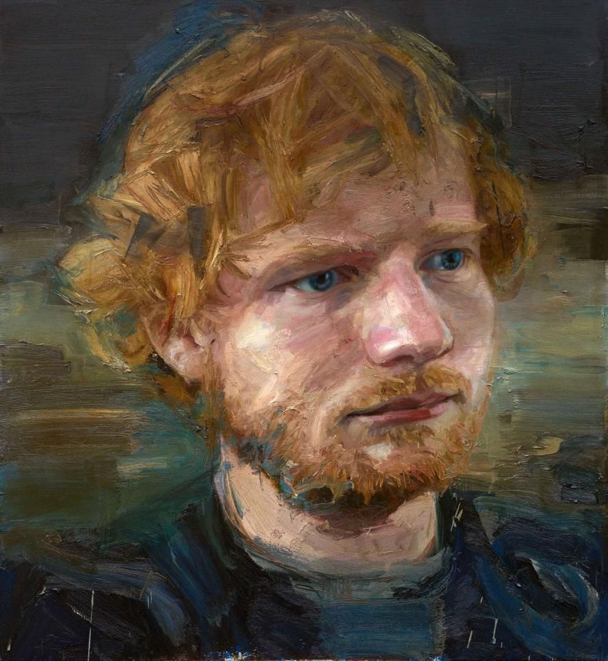 Chart-topper Ed Sheeran painting to be unveiled at the National ...