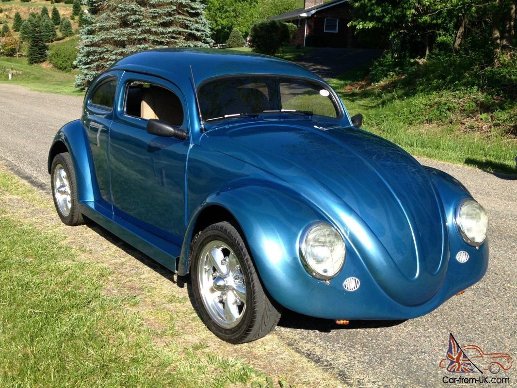 Custom Cars with Suicide Doors | 1964 VW BEETLE Blue 6\  CHOP TOP & Custom Cars with Suicide Doors | 1964 VW BEETLE Blue 6\