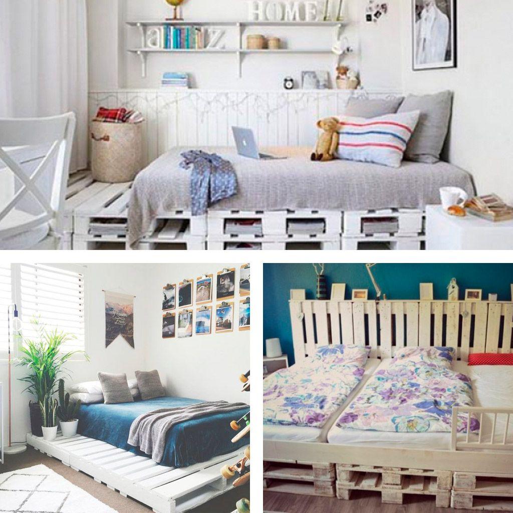 camas con palets juveniles - Camas Con Palets