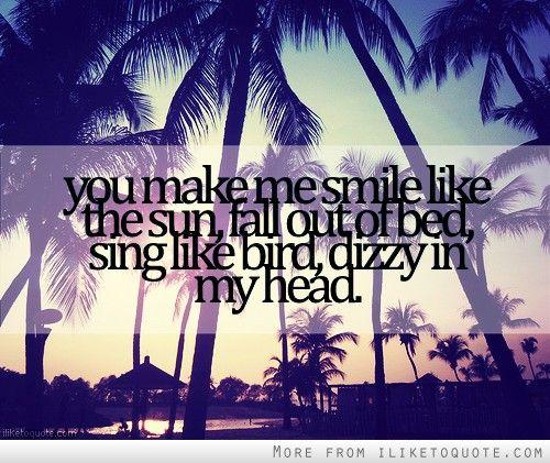 you make smile like the sun lyrics