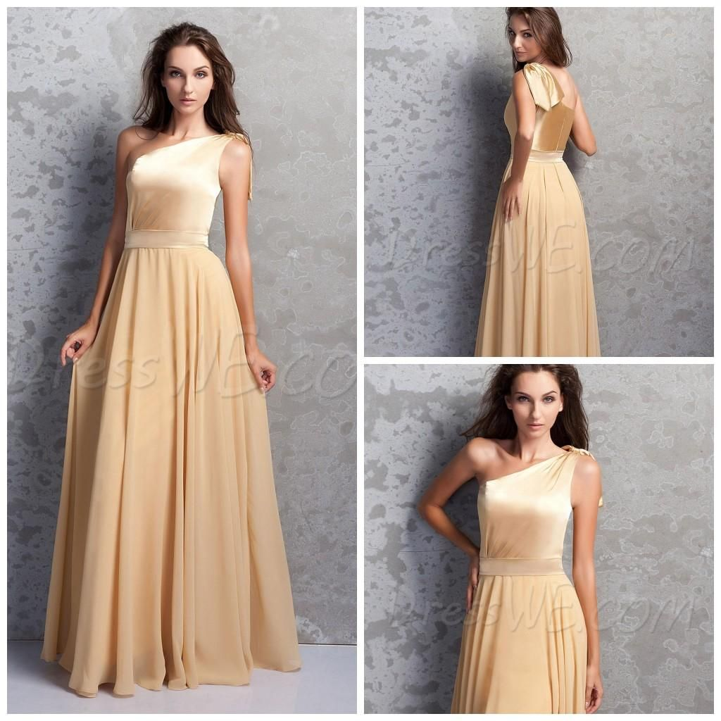 2015 adoration rose gold bridesmaid dresses long bridesmaids 2015 adoration rose gold bridesmaid dresses long bridesmaids chiffon long dress a line one ombrellifo Gallery