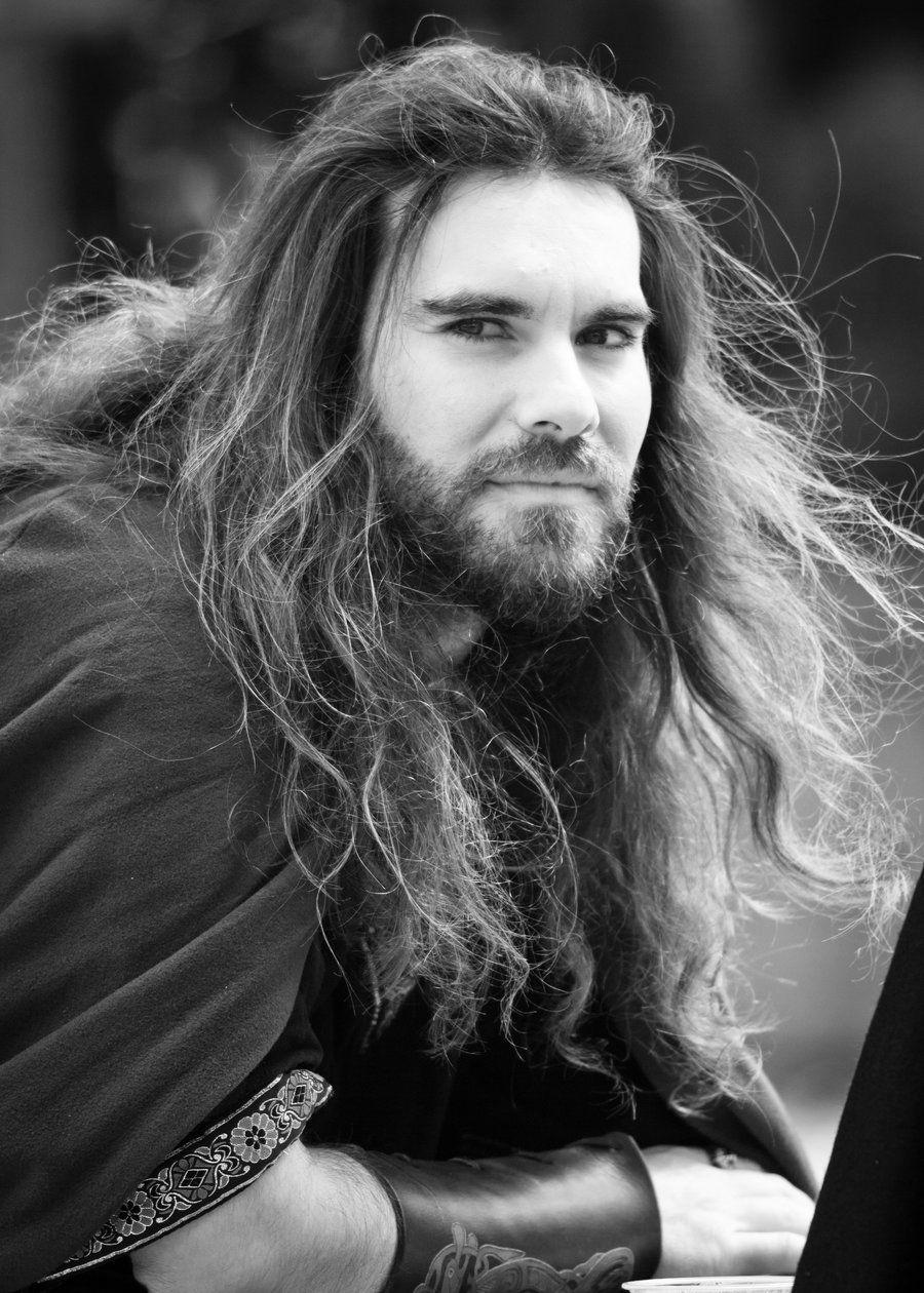 Viking | Wikinger männer, Frisuren langhaar