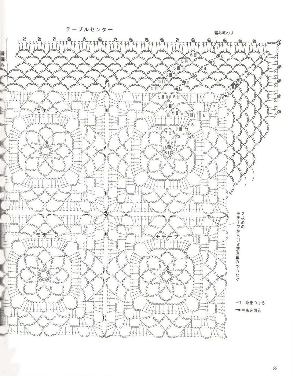 page 3 of 3     crochet square doily pattern