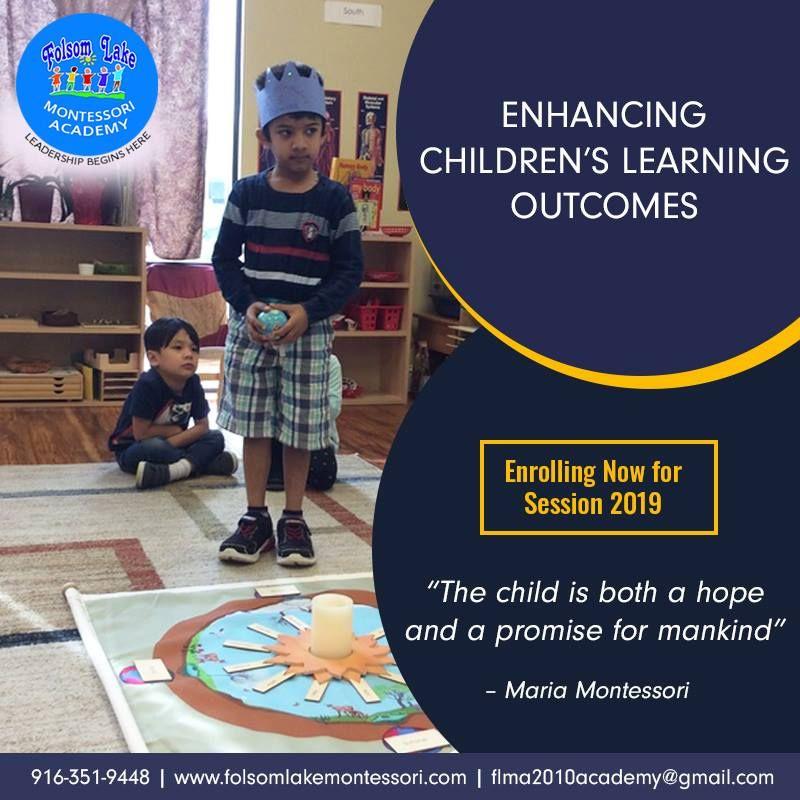 Folsom Lake Montessori School offers Preschool, Toddler