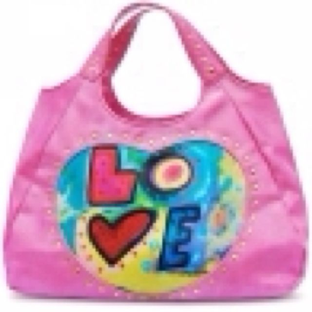 Love Bag in pink by Susan Nichole