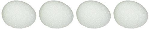 "Styrofoam Eggs 3-1/16""X2-15/16"" 4/Pkg-White FloraCraft https://www.amazon.com/dp/B004BPRLY8/ref=cm_sw_r_pi_dp_x_.3XUxbENH3T7H"
