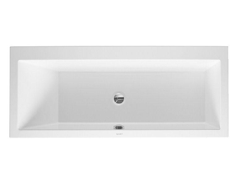 Vasche Da Bagno Incasso Duravit : Vero vasca da bagno da incasso by duravit vasche da bagno