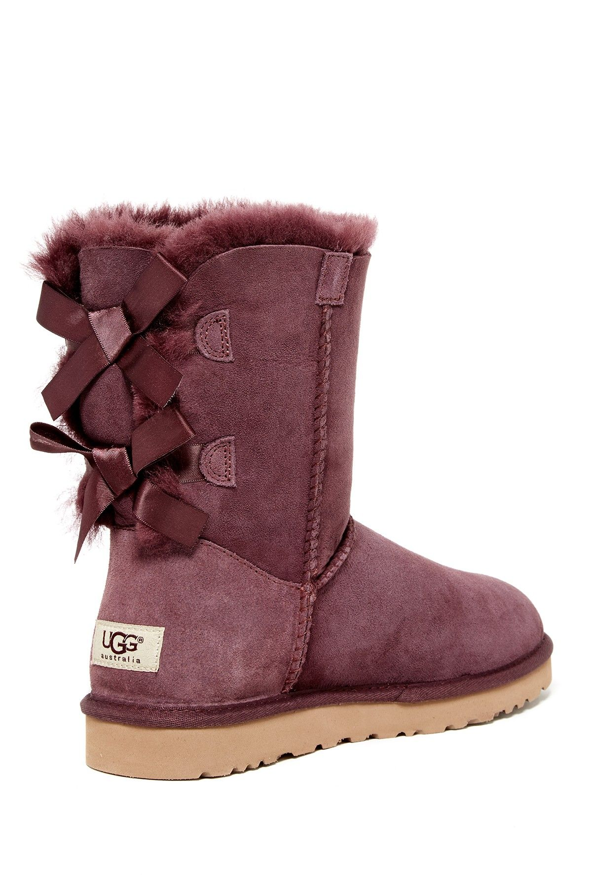3afd194104c Bailey Bow Genuine Shearling Lined Boot | Willa's board | Uggs ...