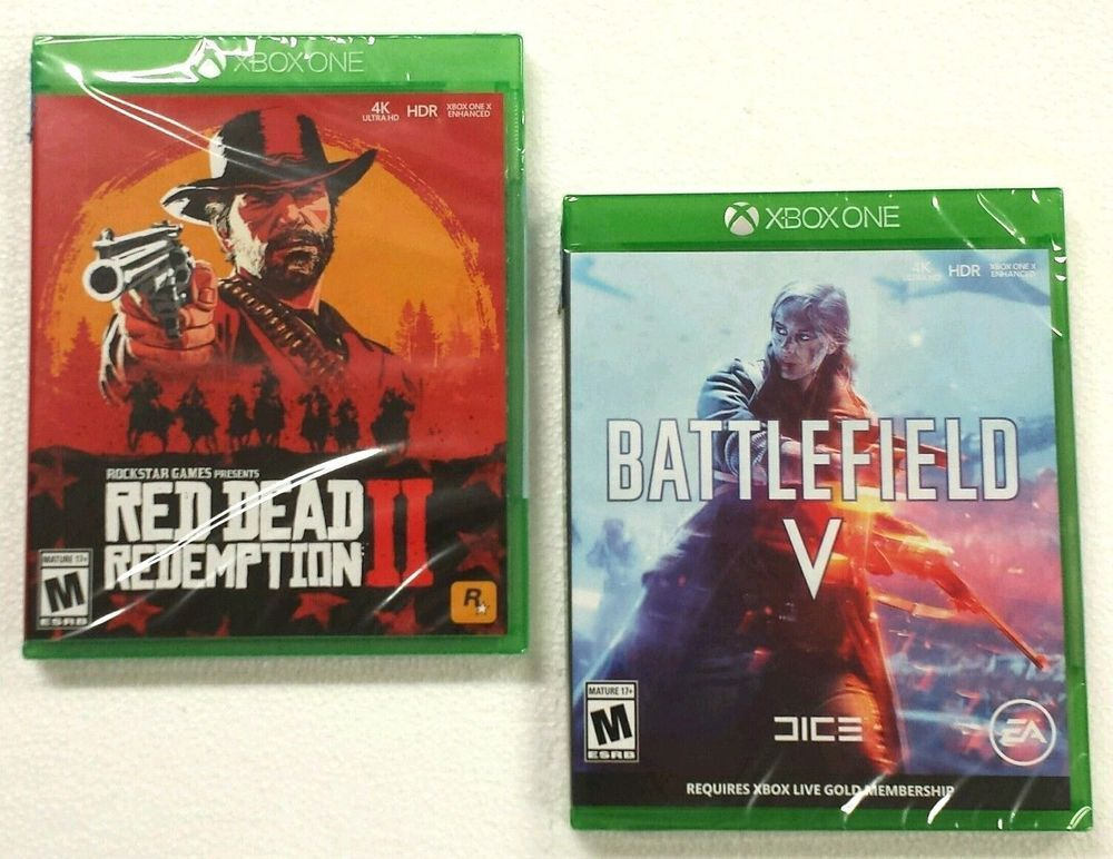 Red Dead Redemption II 2 + Battlefield V 5 Xbox One Video