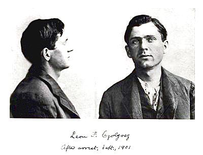 LEON FRANK CZOLOGOS ASSASSIN MUG SHOT
