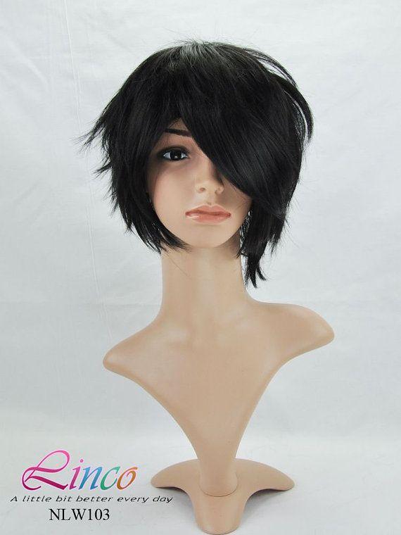35cm Short Sword Art Online Kiritani Black Cosplay Costume Cosplay Wig Kirito Cosplay No Nlw103 Haircut Images Medium Hair Styles Haircut And Color