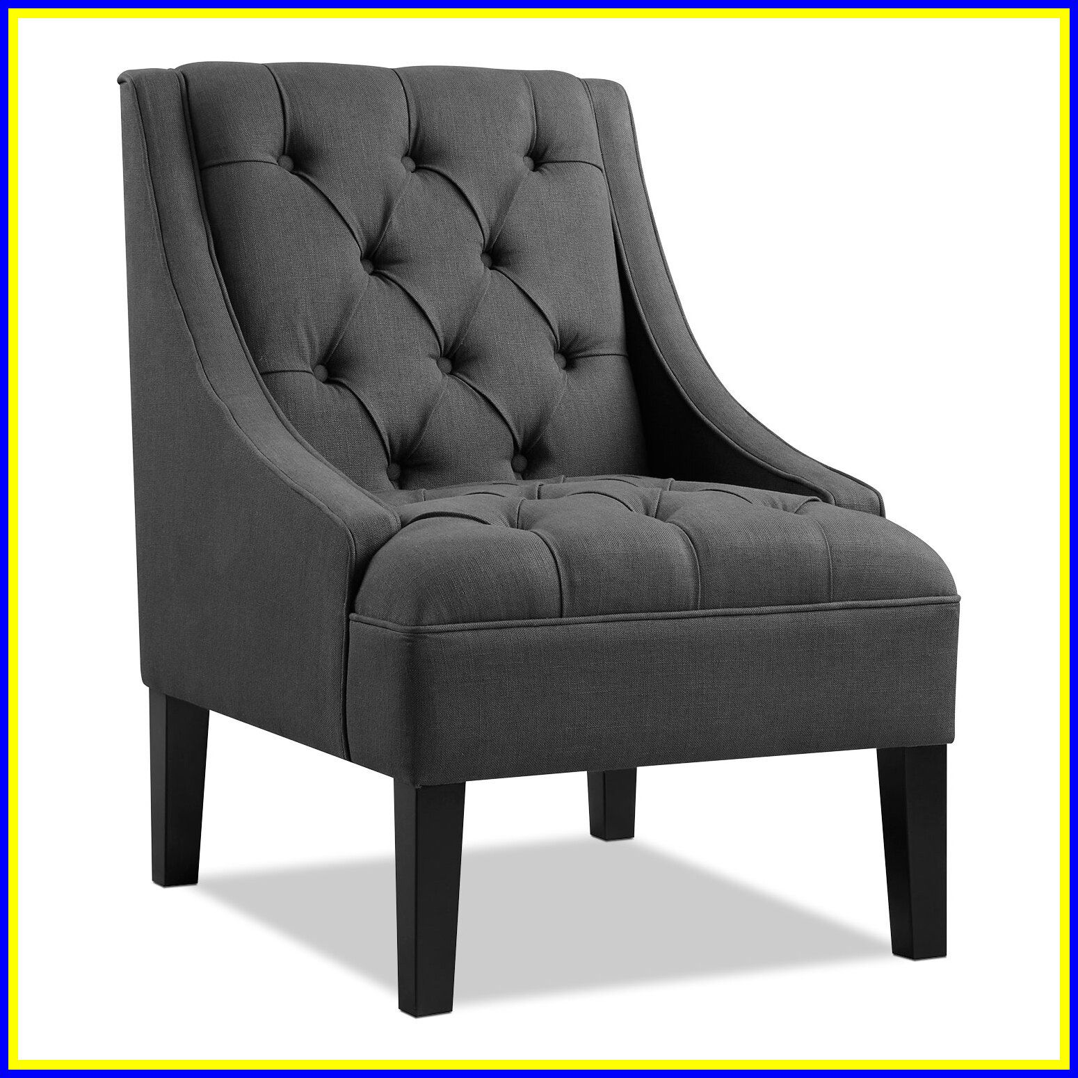 silver grey accent chairs