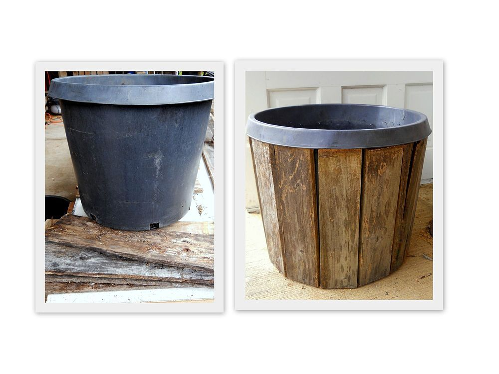 Pallet Wood Planter Diy Project Gardening