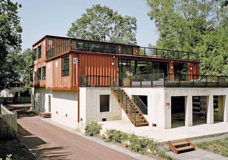 20 of The Coolest Shipping Container Homes Ever!