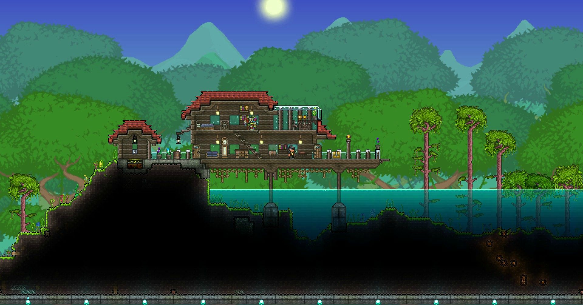 Wooden Fence Terraria — Available Space Miami