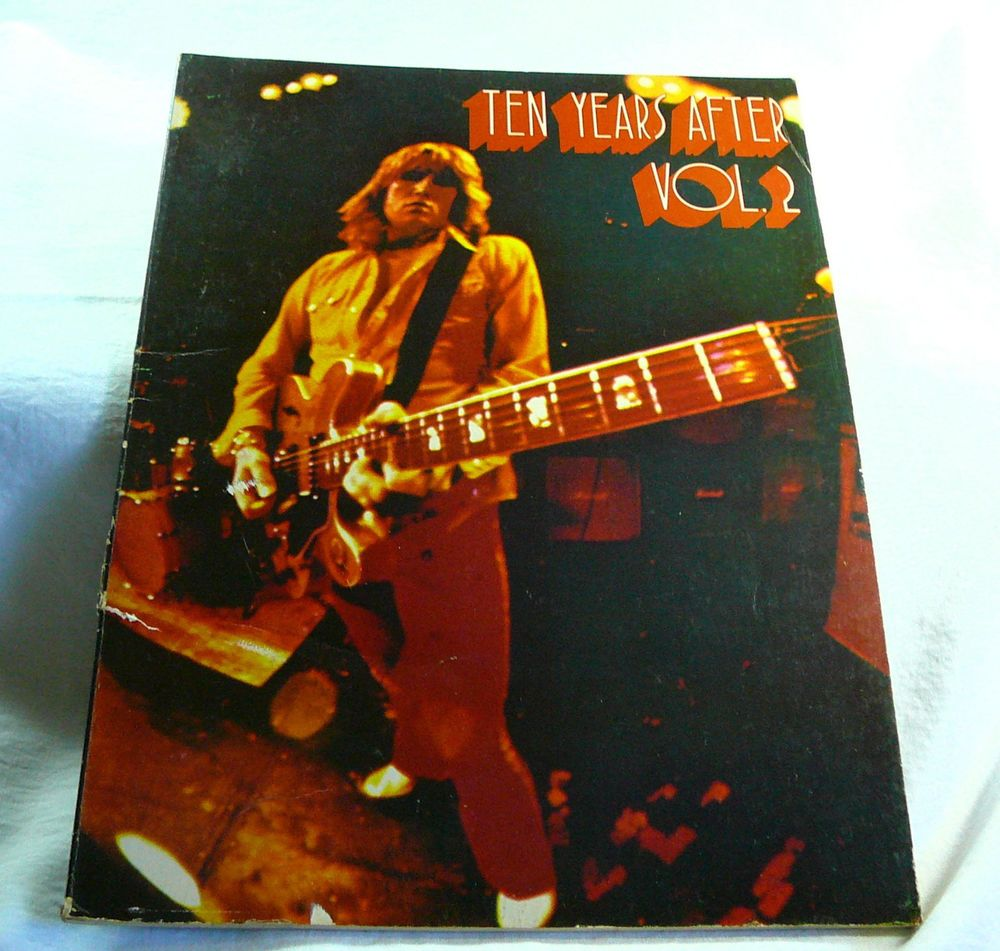 1975  SONGBOOK  TEN YEARS AFTER VOL 2  ALVIN LEE 56 Pg  26 Songs Love Like A Man ~ We present this songbook in good condition, vintage, original, from an private estate and rare/collectible...
