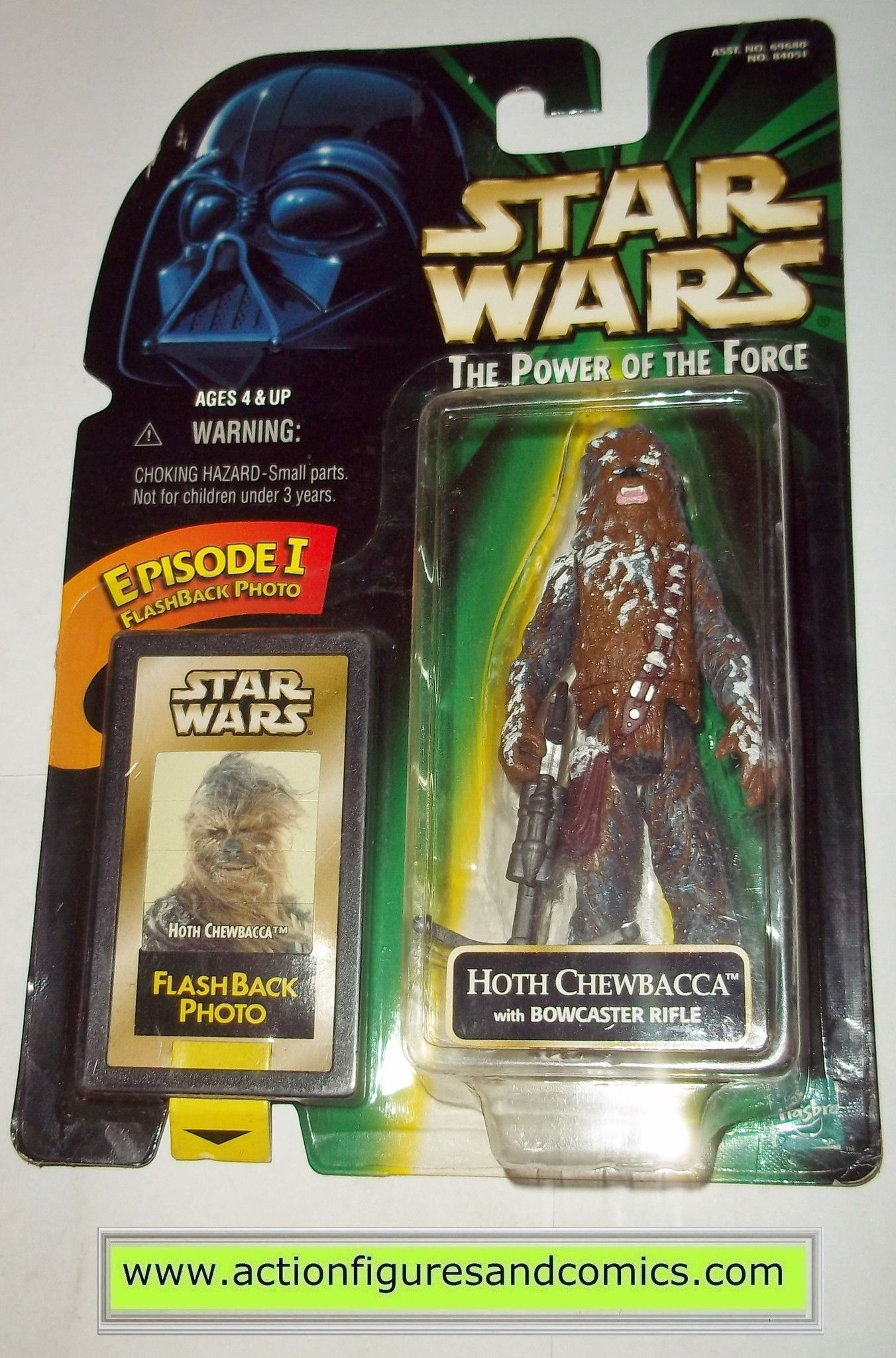 Star Wars Chewbacca Hoth Flashback Action Figure POTF MOC Toy Power of the Force