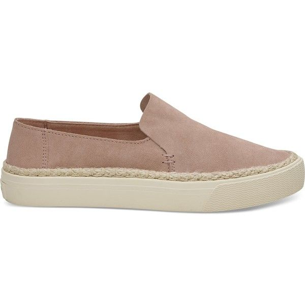 TOMS Sunset Suede Slip On Sneakers E1X90omRC0