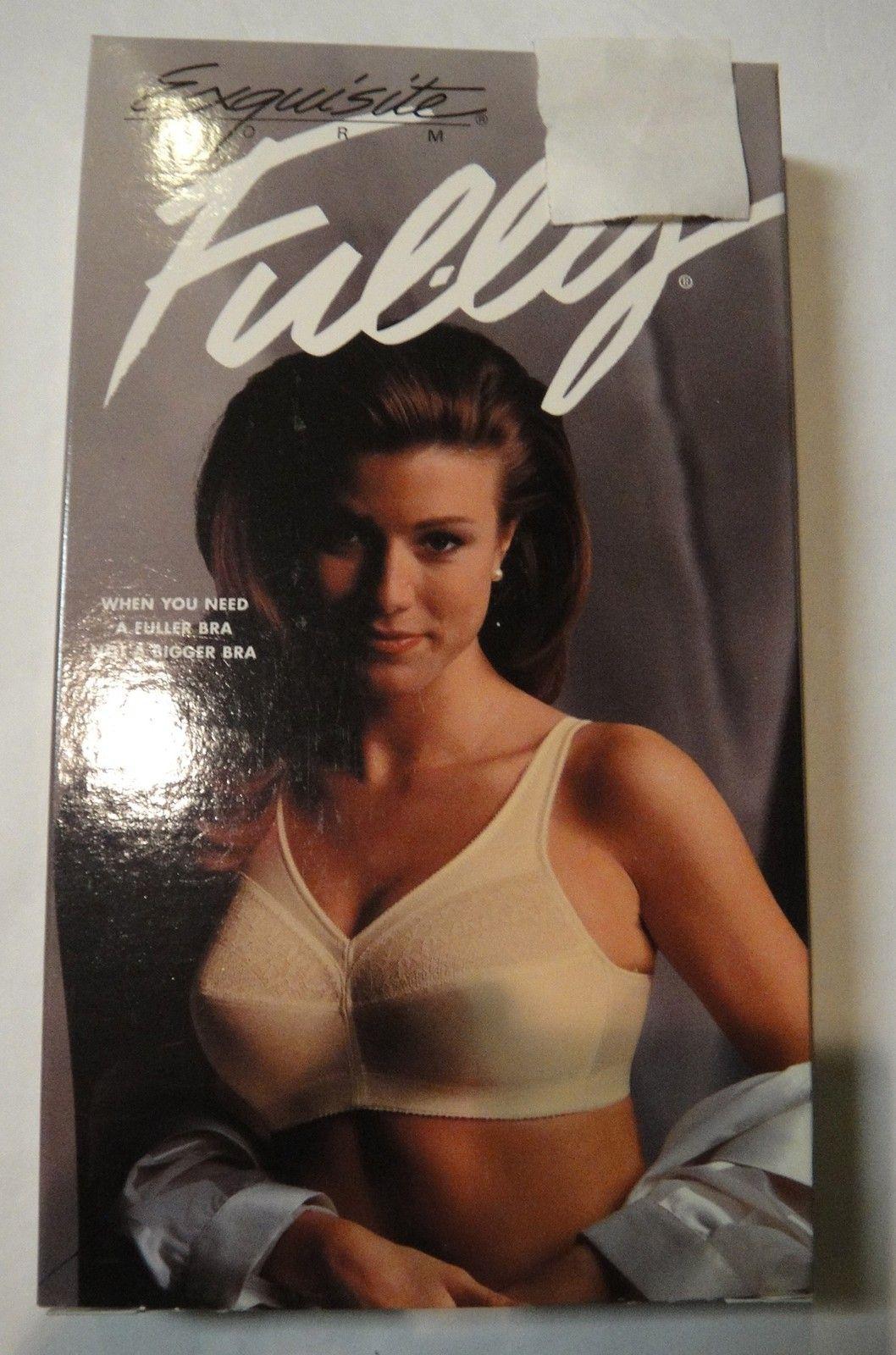 EXQUISITE FORM FULLY Vintage bra Style # 584 BEIGE 36C | eBay ...