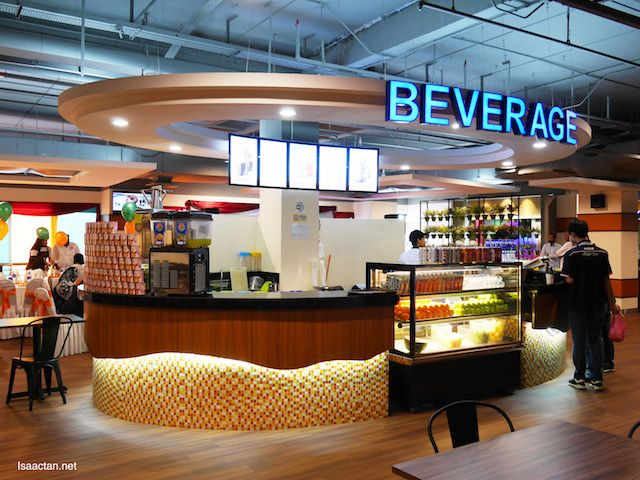 Beverage Counter Food Court Shah Alam Places