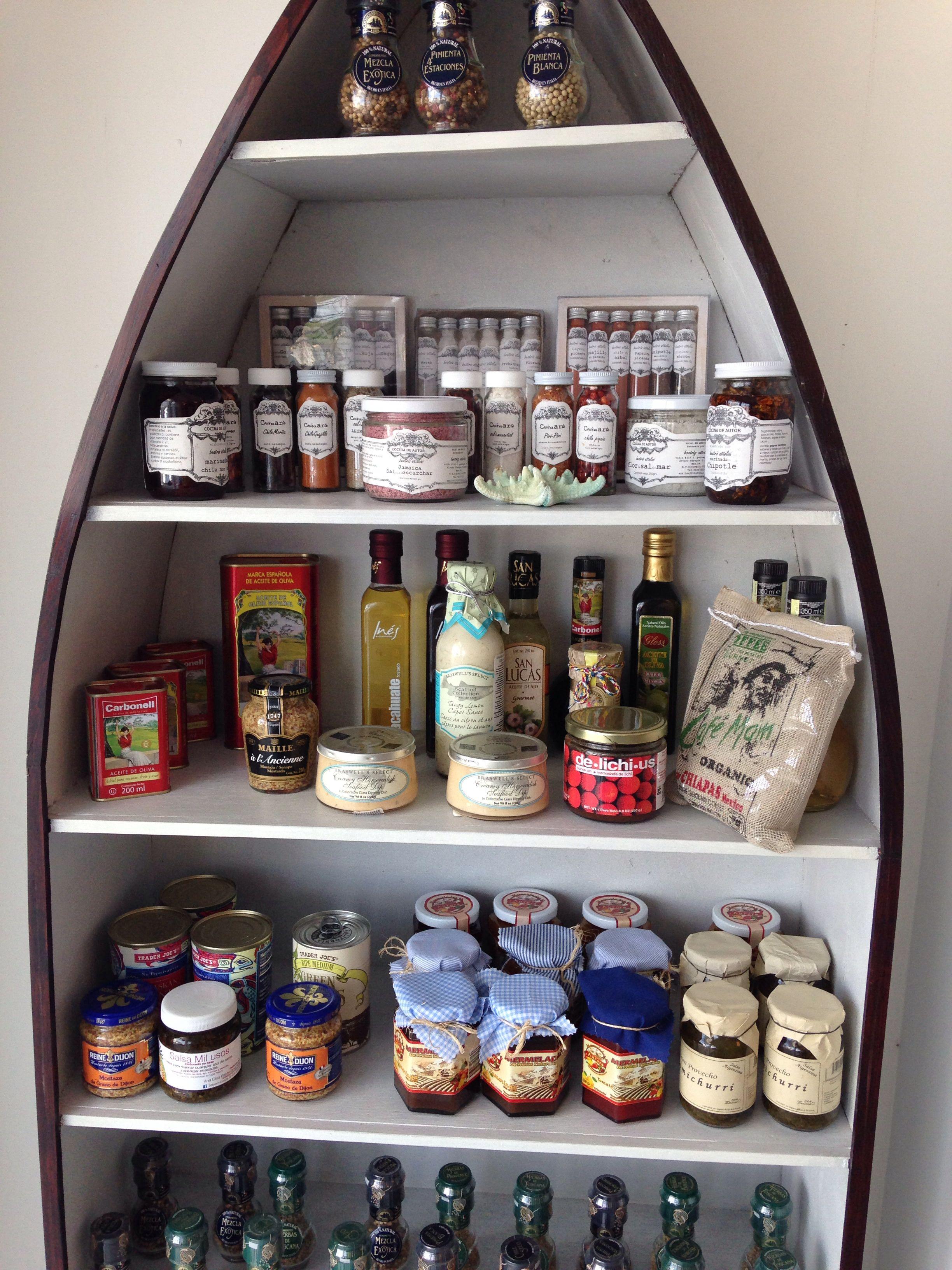 Productos artesanales en The Tuna Shop