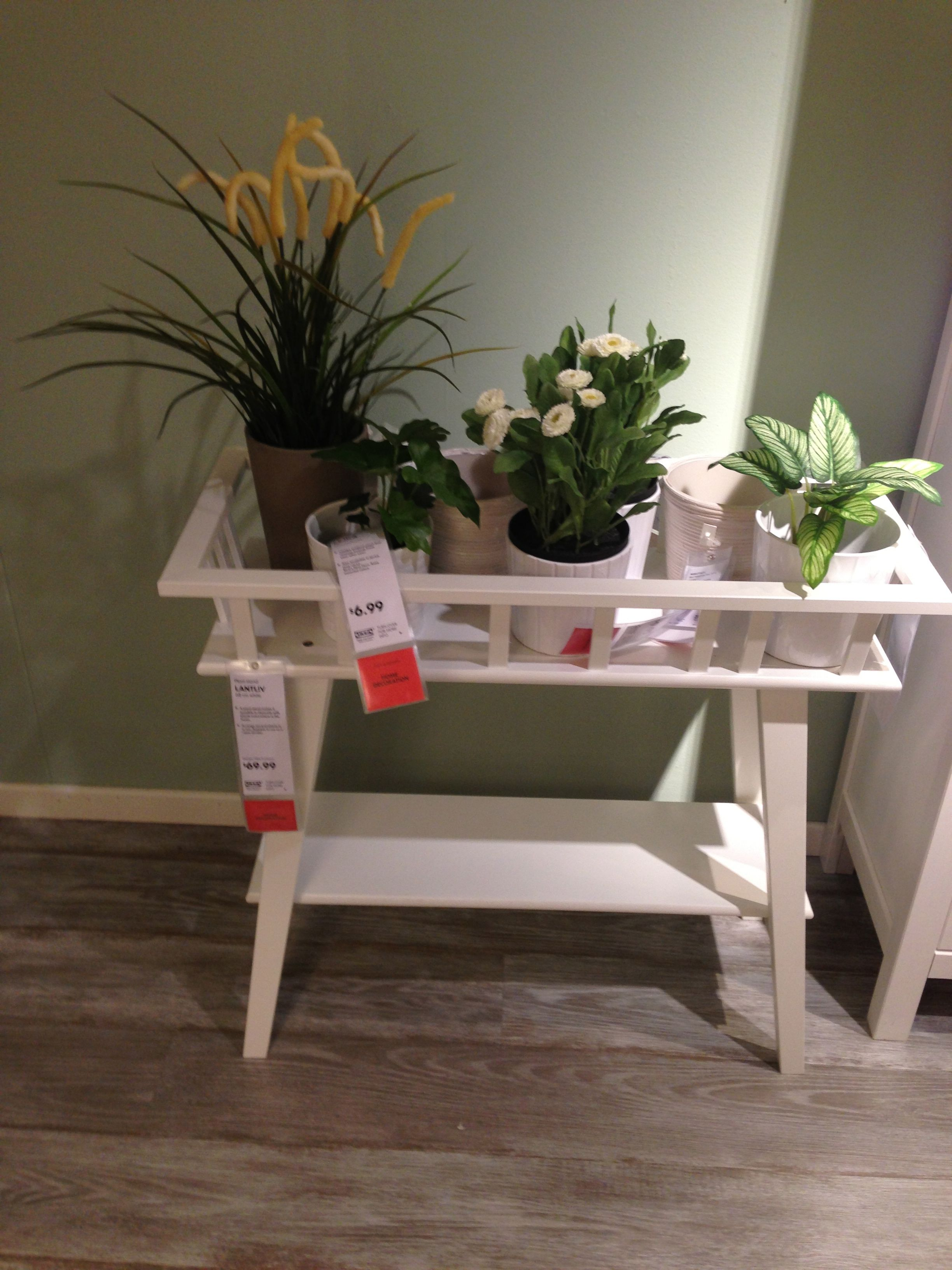 Ikea Showroom Lantliv Plant Stand Makes It Possible To
