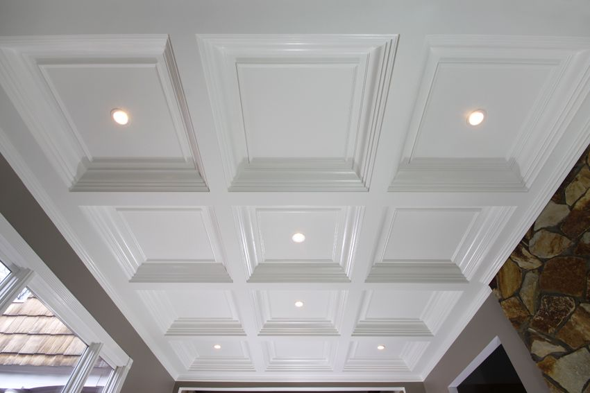 Coffered Ceilings Wainscot Solutions Inc Gypsum Ceiling Coffered Ceiling Design Coffered Ceiling