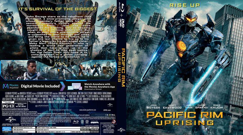Pacific Rim Uprising Blu-ray Custom Cover | Custom BD ... Pacific Rim Cover