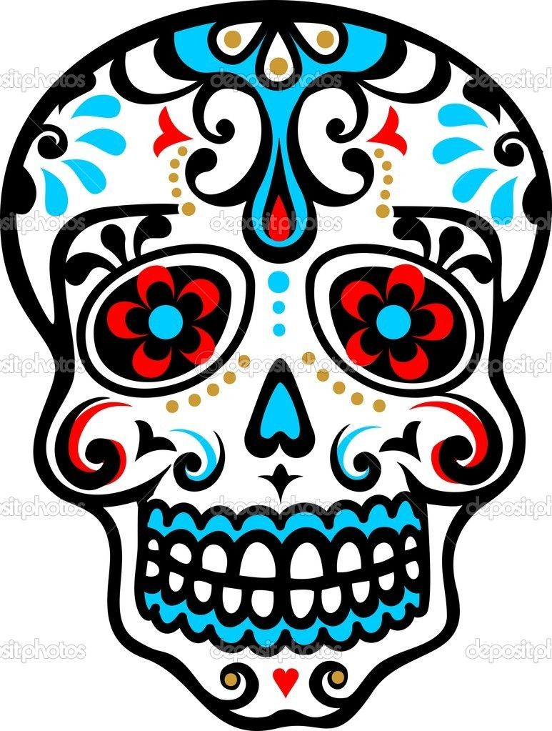 calavera mexicana vector stock lavalova pinteres rh pinterest nz day of the dead vector art day of the dead vector art