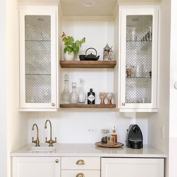 Achieve the Glass-front Cabinet Look with Semihandmade in ...