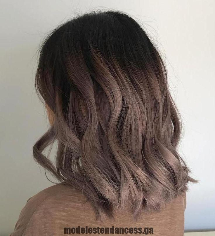 Photo of Decent Mallow Color Esche Ombre Hair – Fashion Trends