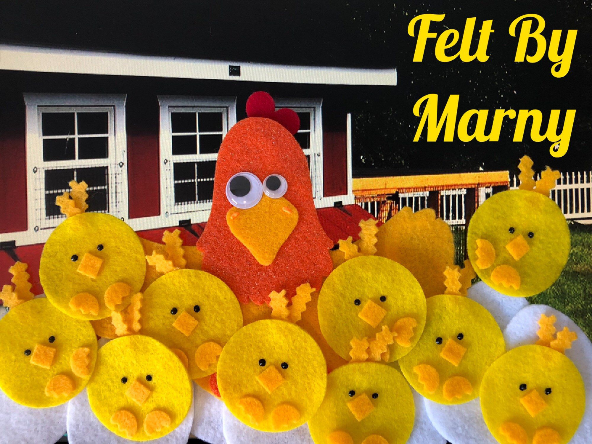 10 Little Chicks And Eggs Felt Board Story Circle Time