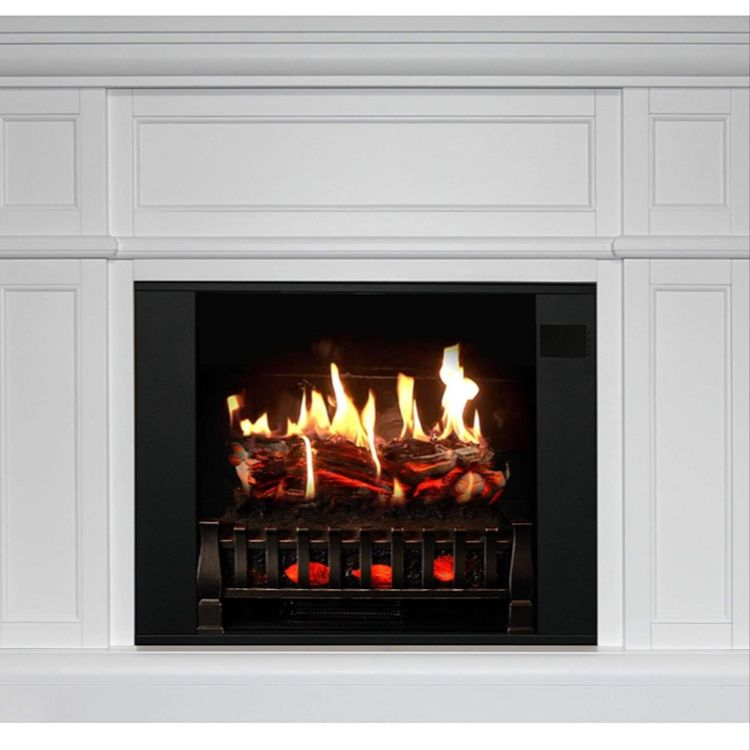 Magikflame Most Realistic Electric Fireplaces In 2020 Realistic Electric Fireplace White Electric Fireplace Electric Fireplace With Mantel