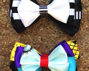The Joker & Harlequin Bows or Bowties by TheGCEMarketplace on Etsy
