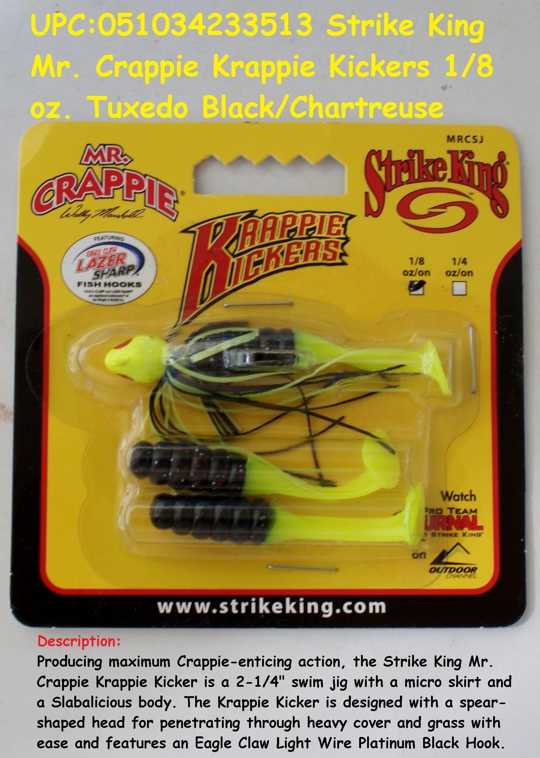 Strike King Mr  Crappie Krappie Kickers | SOFT PLASTIC BAITS