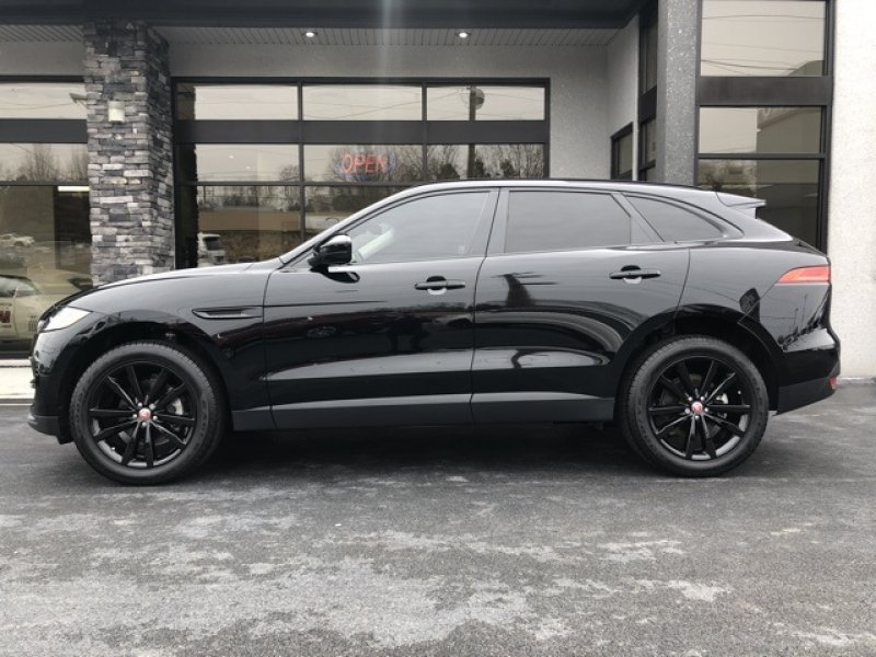 46500 All Black Used 2019 Jaguar F Pace Prestige For Sale In New Tazwell Tn 37825 Sport Utility Details 543983125 Autotra Jaguar Suv Jaguar Jaguar Car