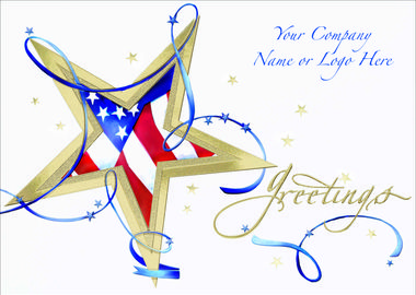 RICH WITH PRIDE  A holiday card that's rich with pride is perfect for portraying your company's values this holiday season. - See more at: http://greetingcardcollection.com/products/holiday-cards-patriotic/372-rich-with-pride
