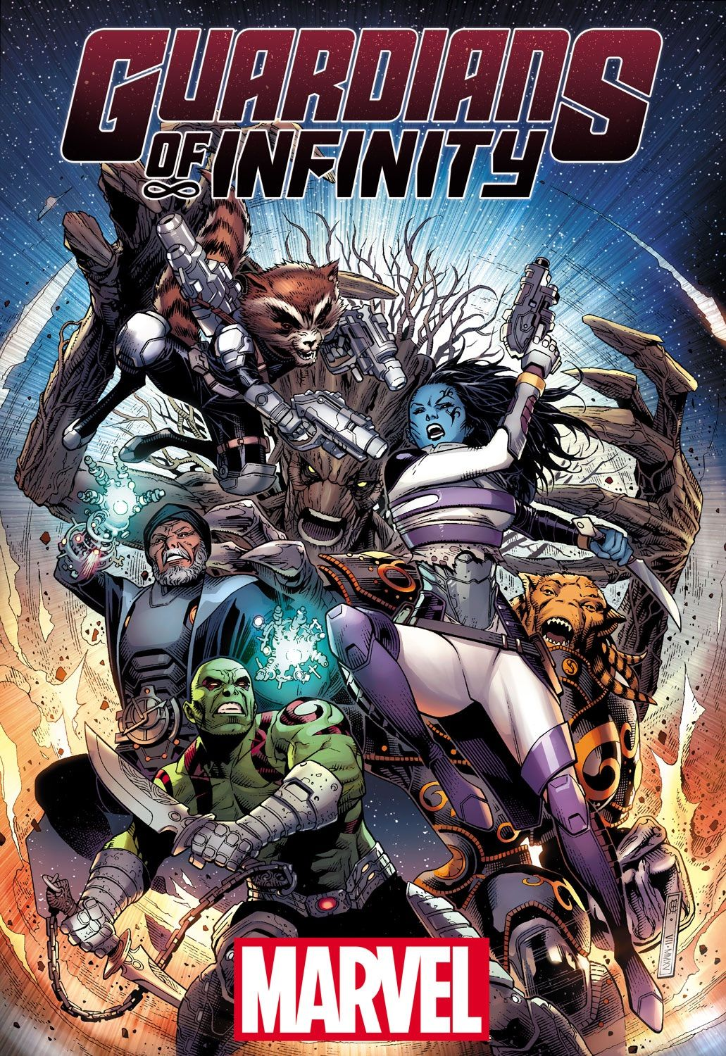 Generations Collide in Your New Look at GUARDIANS OF INFINITY #1!, This December, the infinite expanse of space and time will give way, and three eras of heroes will collide! Today, Marvel is pleased to present a look...,  #BennGrimm #CarloBarberi #DanAbnett #Drax #Groot #GuardiansofInfinity #GuardiansofInfinity#1 #guardiansofthegalaxy #JasonLatour #JimCheung #MarcoRudy #Marvel #MarvelComics #News #PressRelease #RocketRaccoon #RonLim