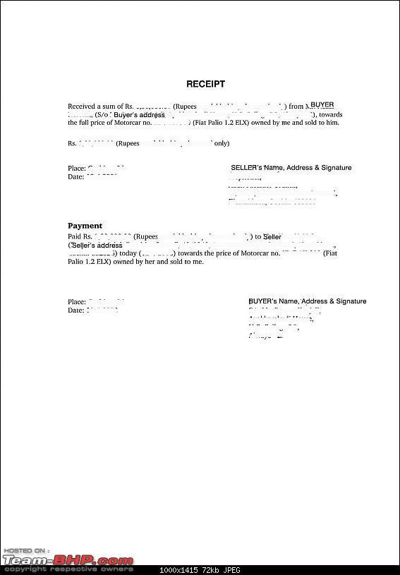 Rto Form 28 29 30 Download For Maharashtra Google Search Invoice Template Receipt Bill Of Sale Template