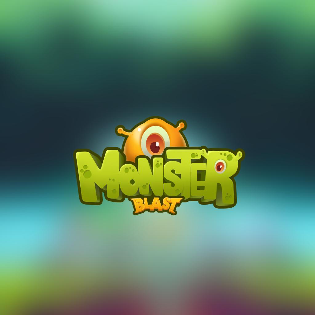 game logo_monsterblast Game logo design, Game logo