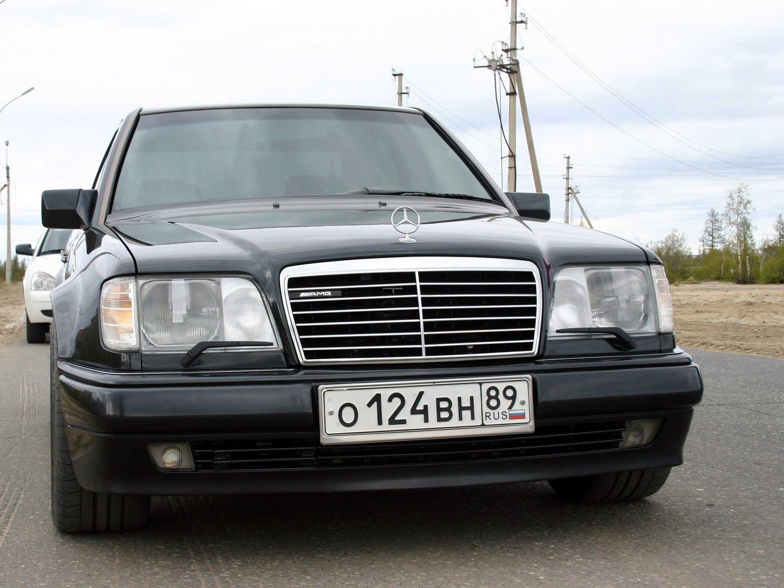 Mercedes benz w124 e500 on mae wheels