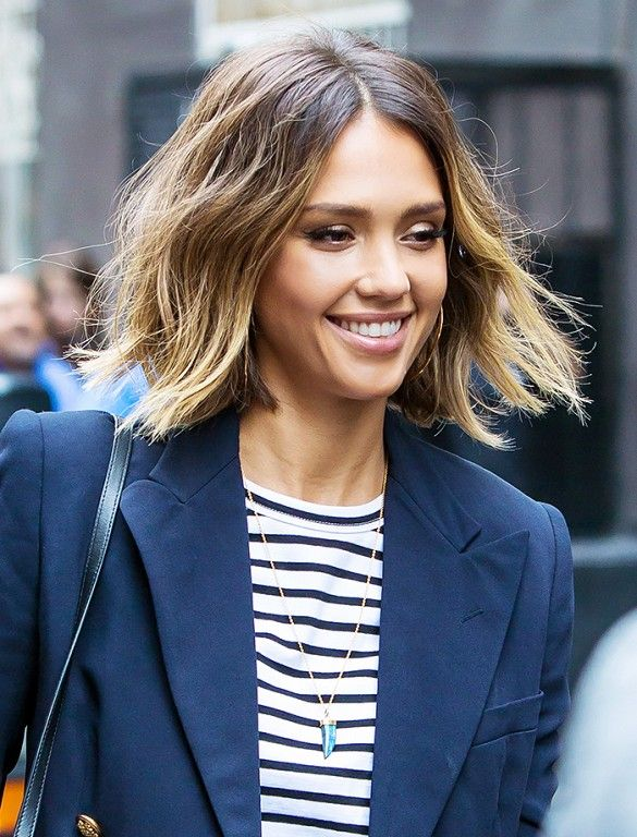 Spring Hairstyle Trends Whats In and Whats Out Jessica alba