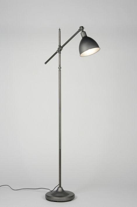 Vloerlamp 72030 Retro Industrie Look Metaal  Wonen in