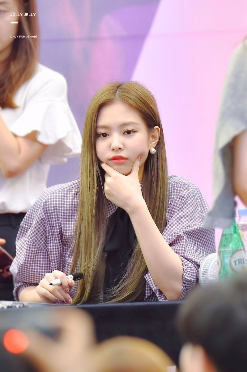 Image result for jennie at fansign