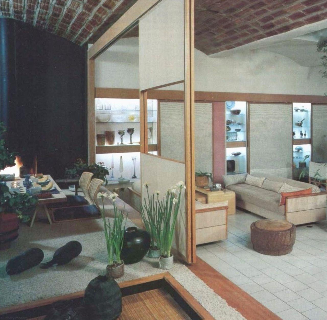 jack lenor larsen - nyc apartment 1980s   interiors   Pinterest ...